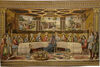 Sistine Chapel Last Supper tapestry