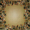 Roosters Collage tablecloth