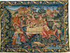 The Banquet - medieval feast tapestry