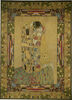 The Kiss tapestry wallhanging