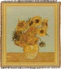 Van Gogh Sunflowers throw