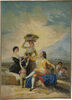 Vendimia tapestry - Goya art