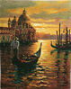 Venice Sunset tapestry