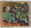 Van Gogh Irises Throw